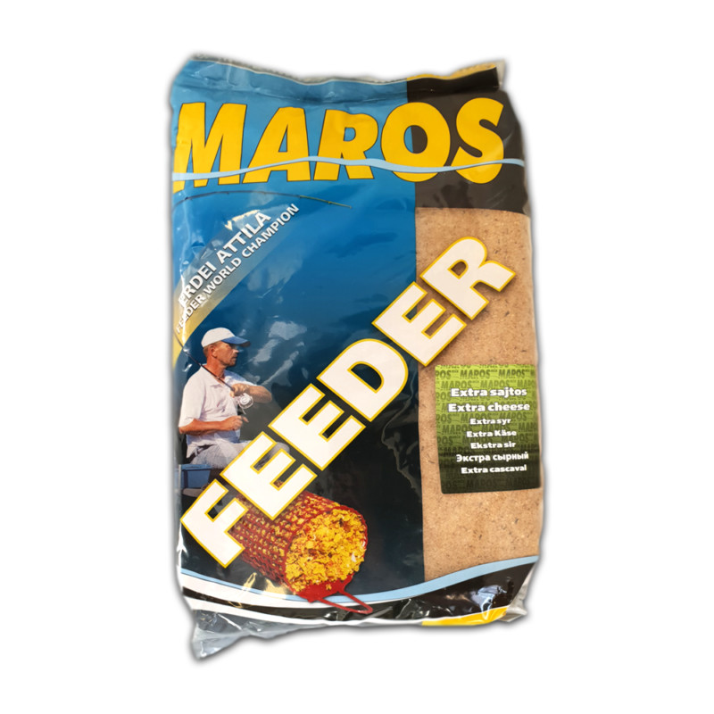 Захранка Maros Mix FEEDER Extra Cheese 1kg