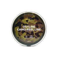 Шаранско влакно Avid Carp Outline Camo Reel Line 1000m